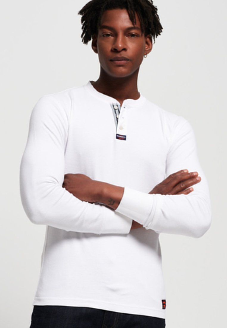 Superdry - Long sleeved top - white