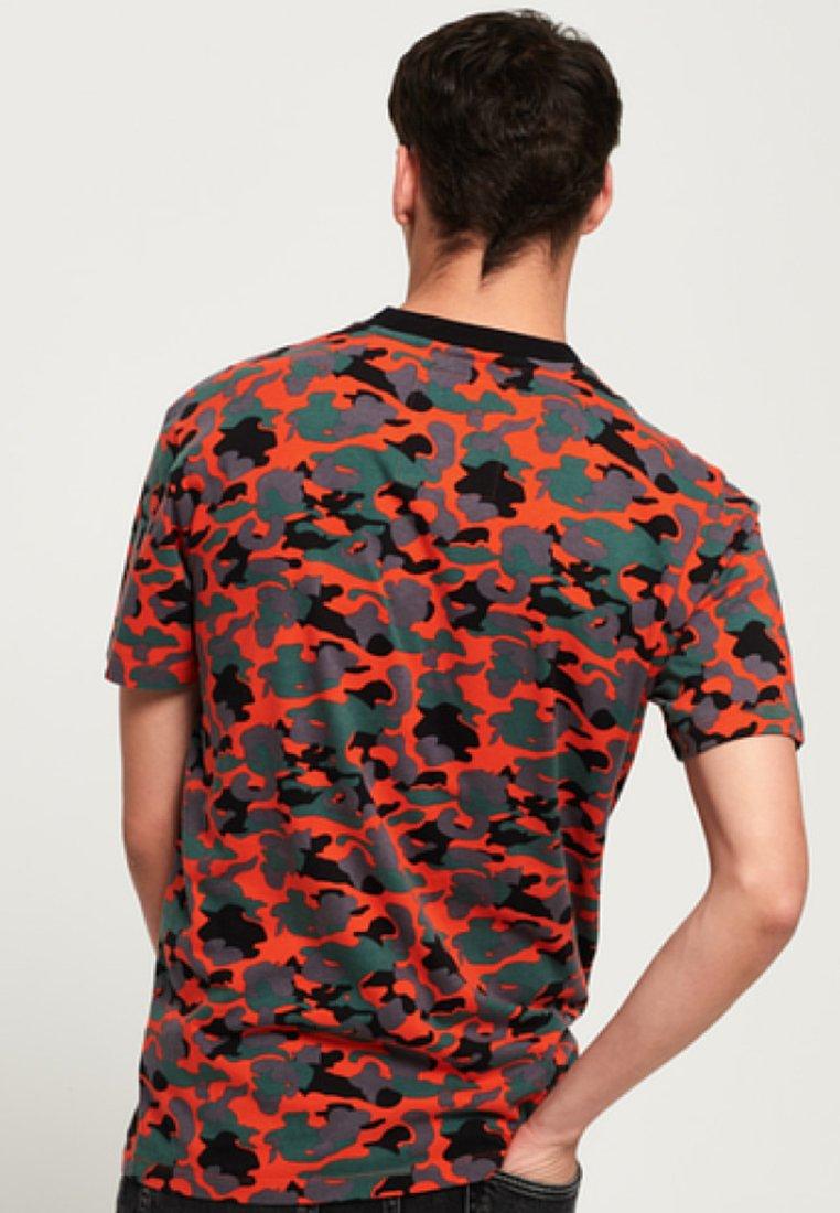 Imprimé Orange shirt Label UrbanT Superdry nP0OX8kZNw