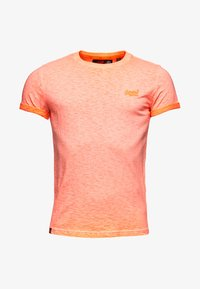 Superdry - LOW ROLLER - T-shirt print - orange - 4