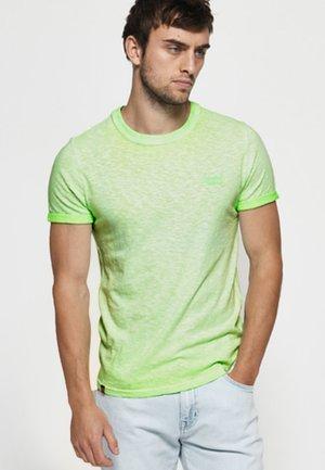 LOW ROLLER - T-shirt z nadrukiem - surf green