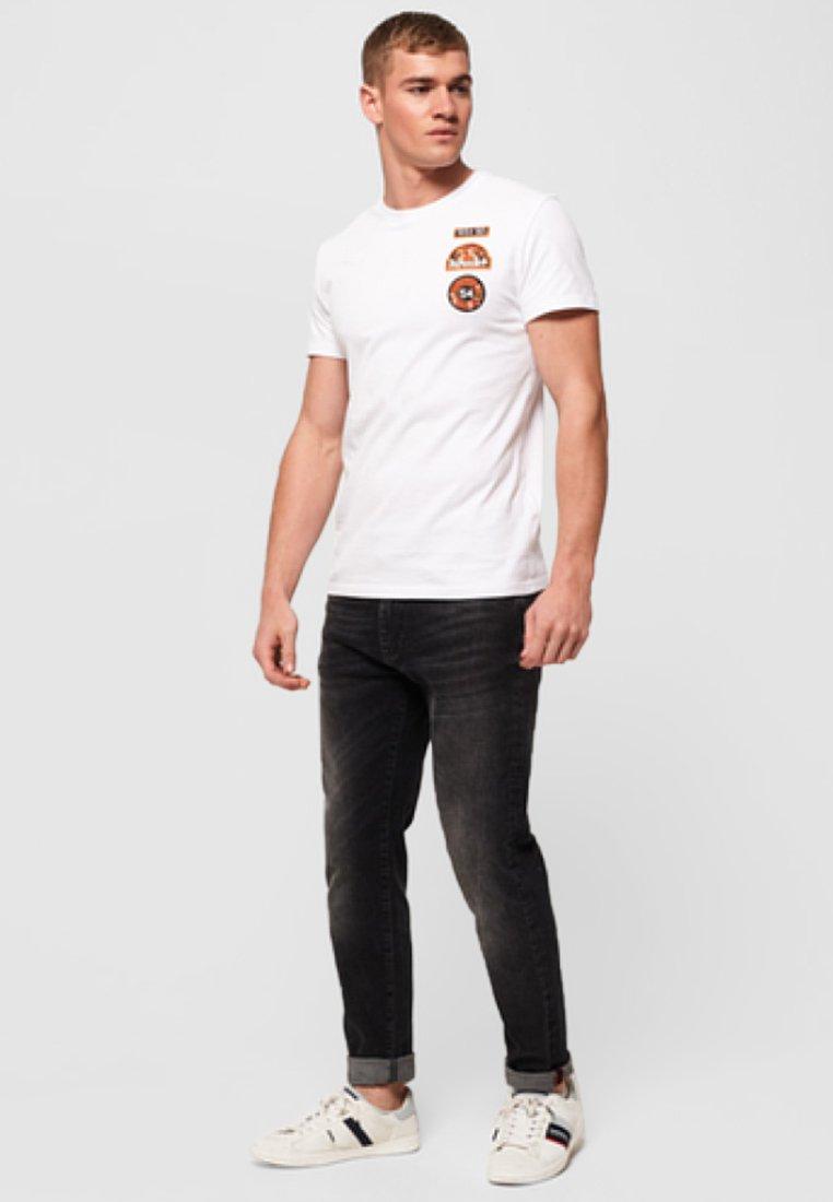 Superdry shirt Mit AufnähernT Imprimé White QxdCtBhsro