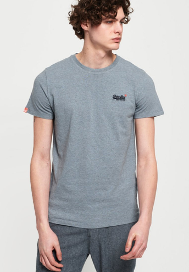 Superdry - ORANGE LABEL - T-Shirt print - grey