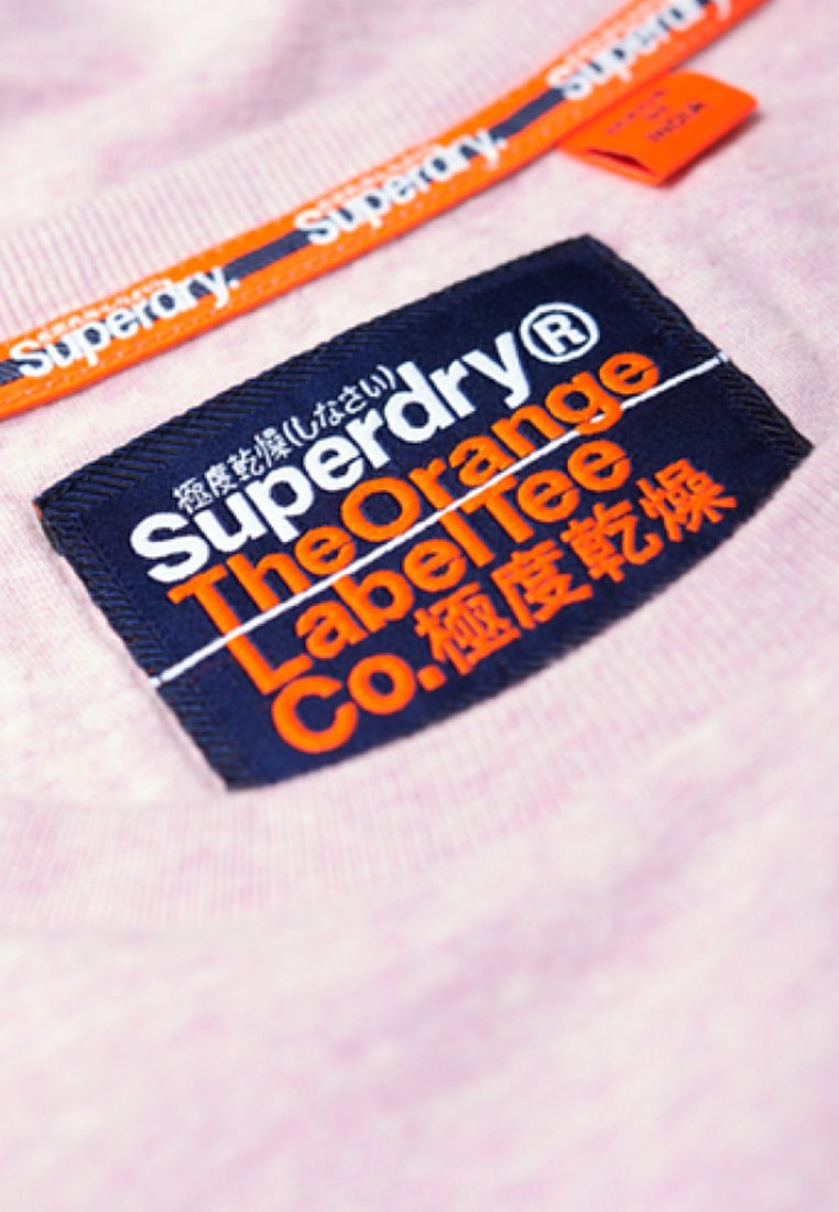 Imprimé Orange Superdry shirt LabelT Pink lKJTF1c