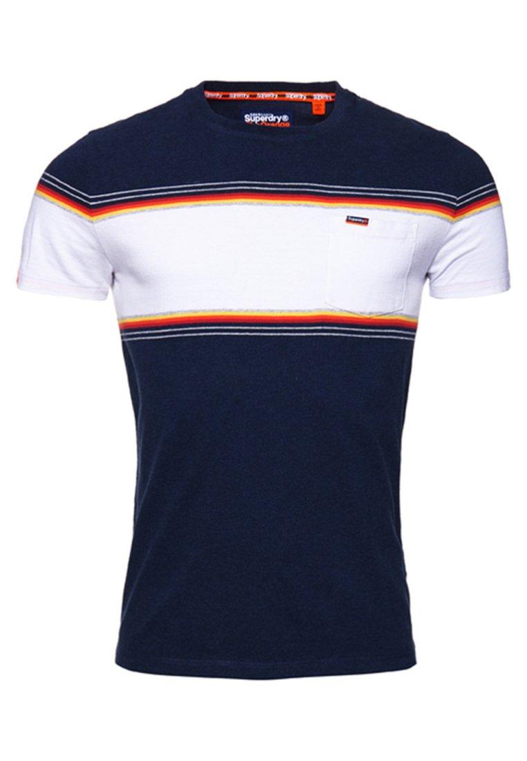 Superdry Orange Label - T-shirt imprimé - royal blue