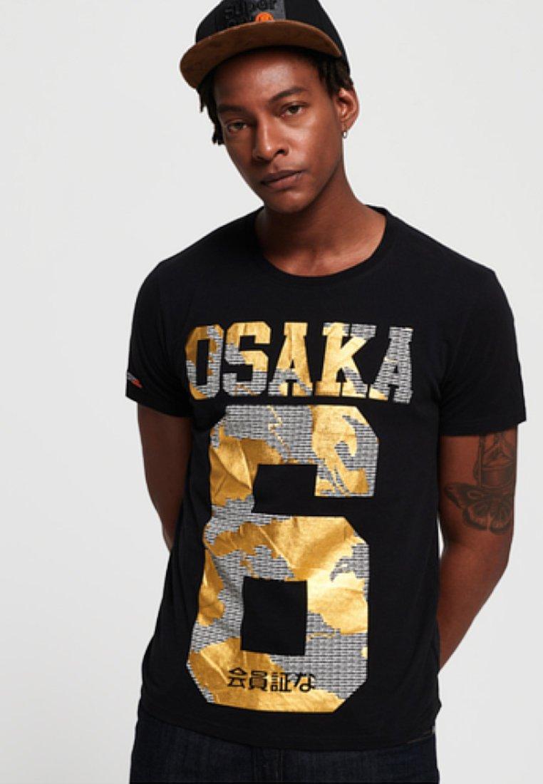Superdry Superdry Imprimé shirt shirt OsakaT OsakaT Black Black Imprimé Superdry erdBWCxo