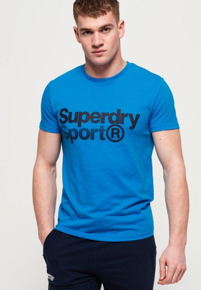 MIT GRAFIK - T-shirt imprimé - aqua
