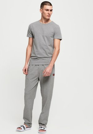 T-shirt print - lounge blue feeder/lounge grey marl