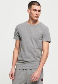 Superdry - Print T-shirt - lounge blue feeder/lounge grey marl - 1