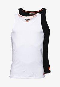 Superdry - 2-PAK - Top - laundry white/laundry black - 4