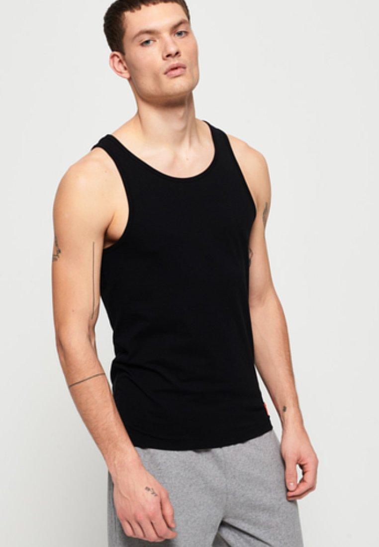 Superdry - 2-PAK - Top - laundry white/laundry black