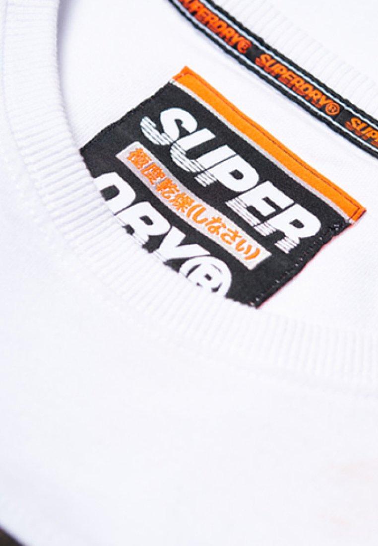 Superdry Camiseta estampada white