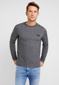Superdry - ORANGE LABEL - T-shirt à manches longues - basalt grey - 0