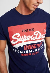 Superdry - VINTAGE LOGO TEE - Print T-shirt - patriot navy - 5