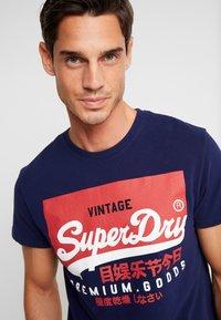 Superdry - VINTAGE LOGO TEE - Print T-shirt - patriot navy - 3