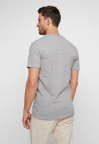 Superdry - VINTAGE LOGO RACER PANEL TEE - Print T-shirt - creek blue grit - 2