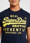 Superdry - Printtipaita - rich navy