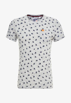 SANTA MARIA - T-shirt con stampa - jasper grey grindle