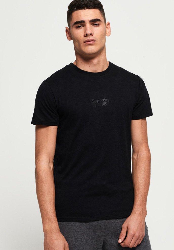 Superdry Camiseta estampada black