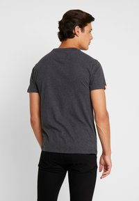 Superdry - VINTAGE EMBROIDERY TEE - T-shirt print - nordic charcoal marl - 2