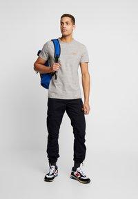 Superdry - VINTAGE EMBROIDERY TEE - T-shirt print - rainbow grey space dye - 1