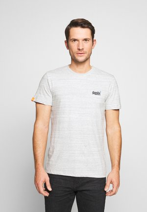 Camiseta básica - desert grey space dye