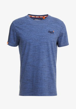 VINTAGE EMBROIDERY TEE - T-shirt con stampa - desert blue grit