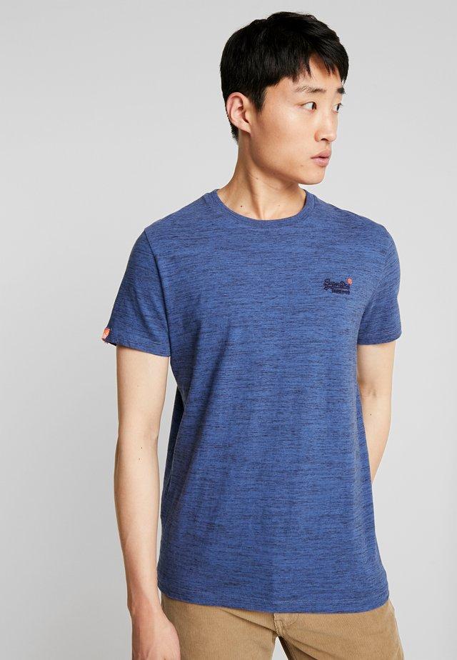 VINTAGE EMBROIDERY TEE - T-shirt print - desert blue grit