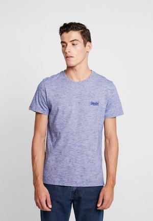 Basic T-shirt - cobalt space dye feeder