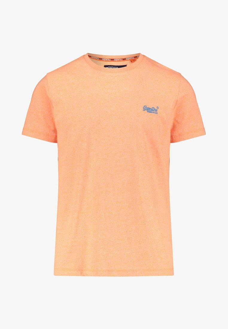 Superdry - OL FLURO GRIT TEE - T-Shirt print - orange