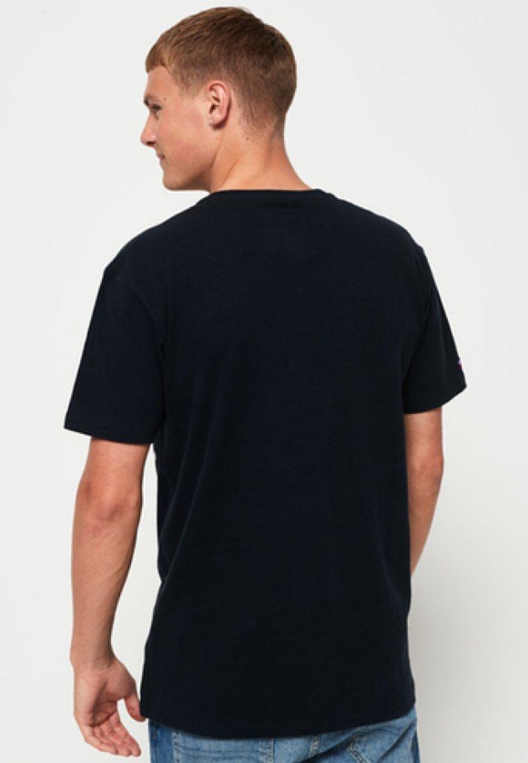 Blue Superdry ImpriméRoyal ImpriméRoyal shirt shirt Blue T T Superdry OXiuPZk