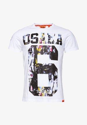 SUPER  - T-shirt imprimé - white