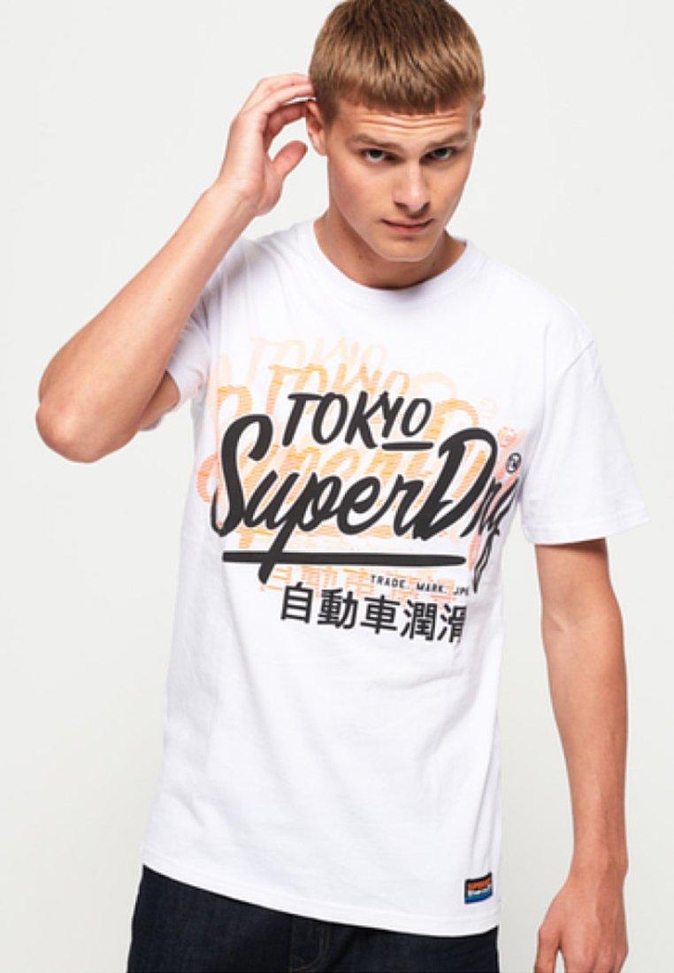 shirt T ImpriméWhite Superdry shirt ImpriméWhite Superdry T OkPwZiuTX