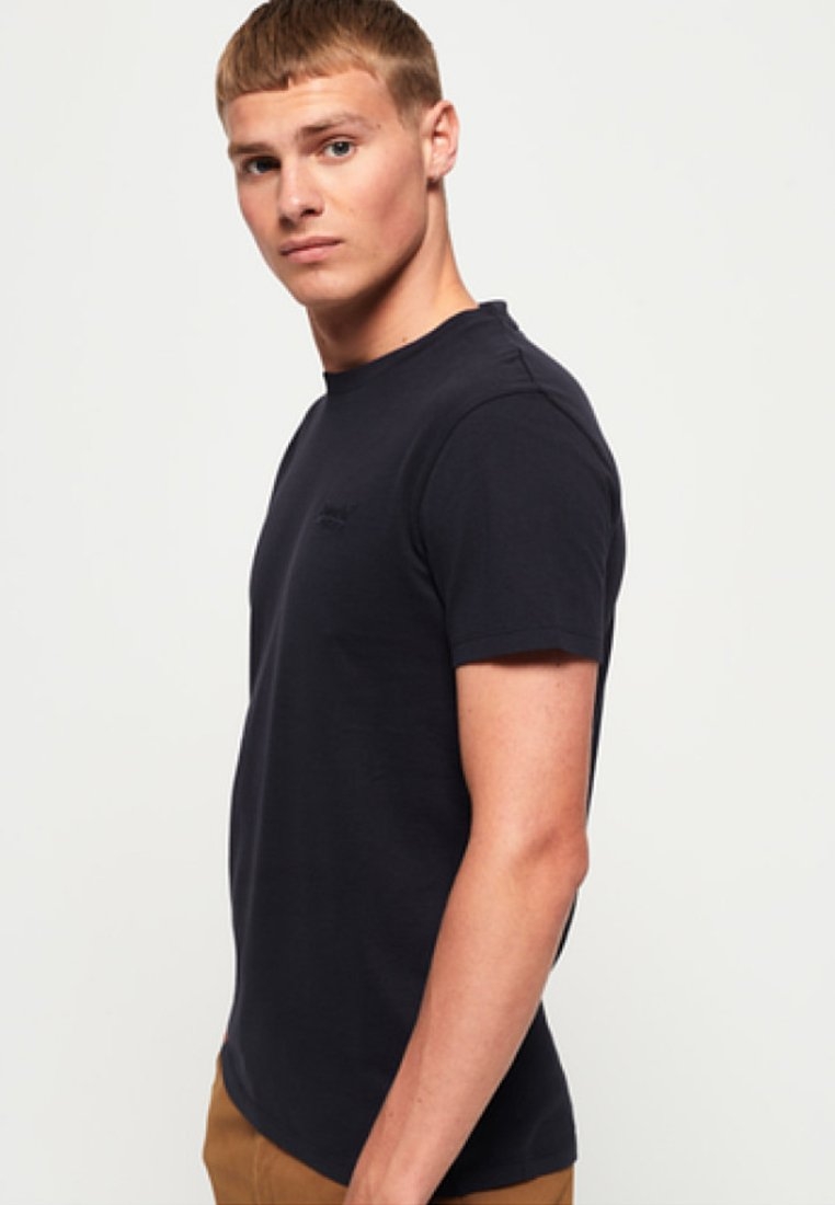 Superdry - LEKKI  - T-Shirt basic - deep blue
