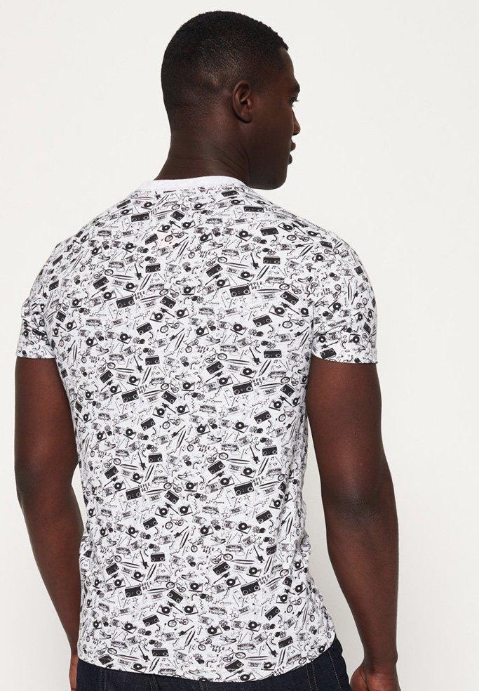 Lite White RulesT shirt House Cream Superdry Ice New Imprimé trhoQsdBCx