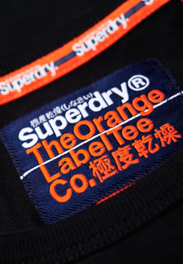 Superdry ORANGE LABEL  - Top - black