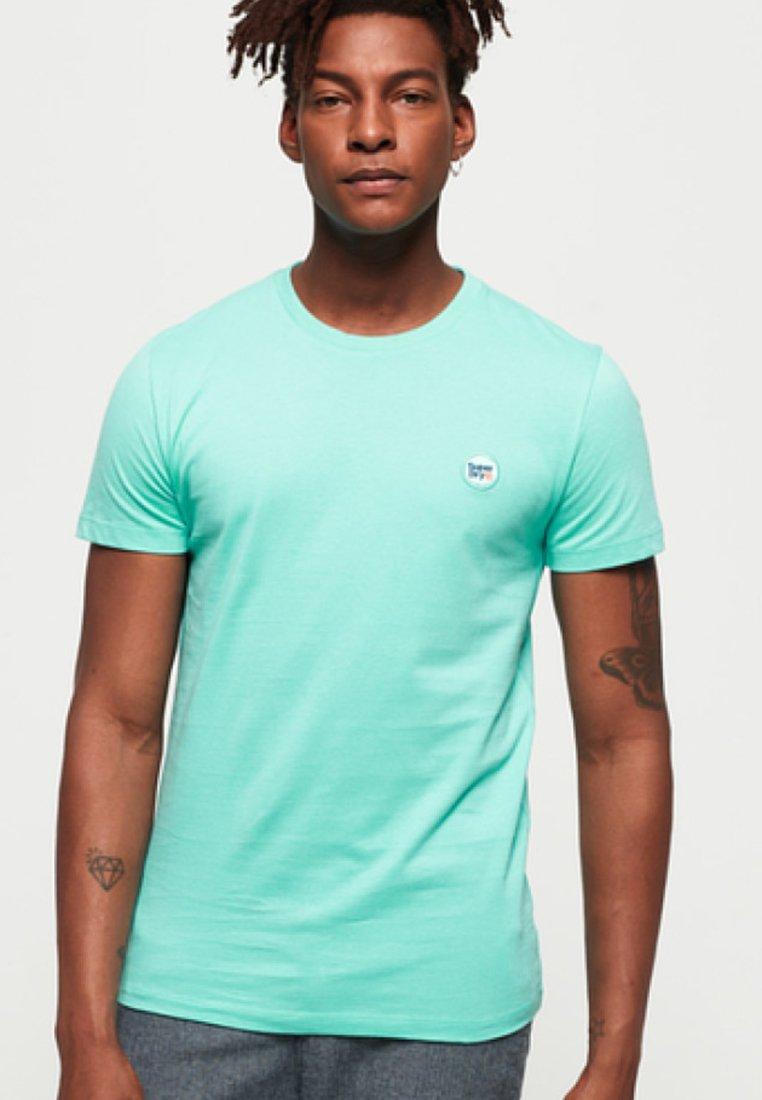 Superdry - T-Shirt print - mint