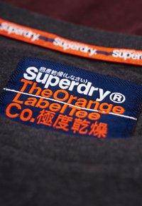 Superdry - ORANGE LABEL - Long sleeved top - minted burgundy red - 3