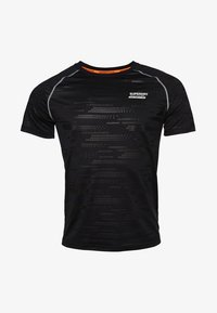 Superdry - T-shirt con stampa - black - 4