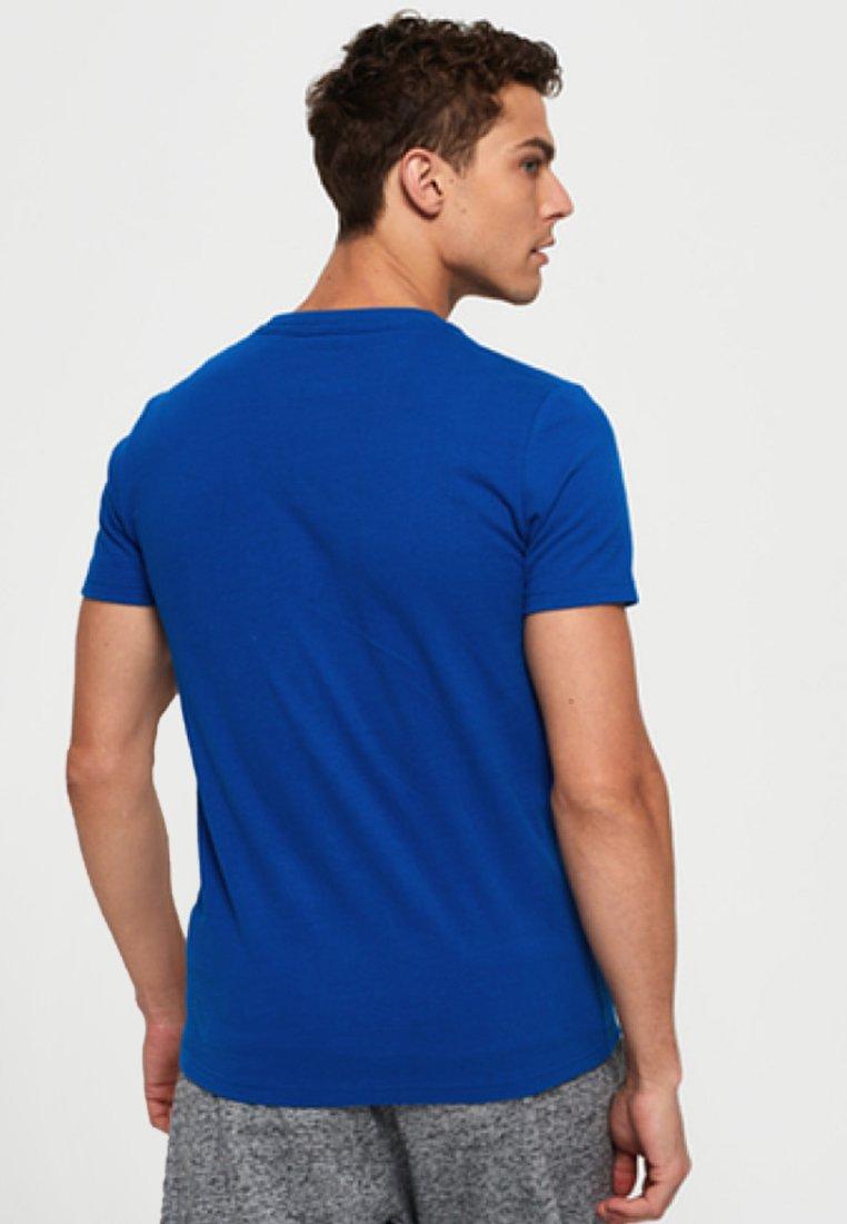 HibiscusT Superdry HibiscusT Superdry Blue Imprimé shirt PilwOZuTkX