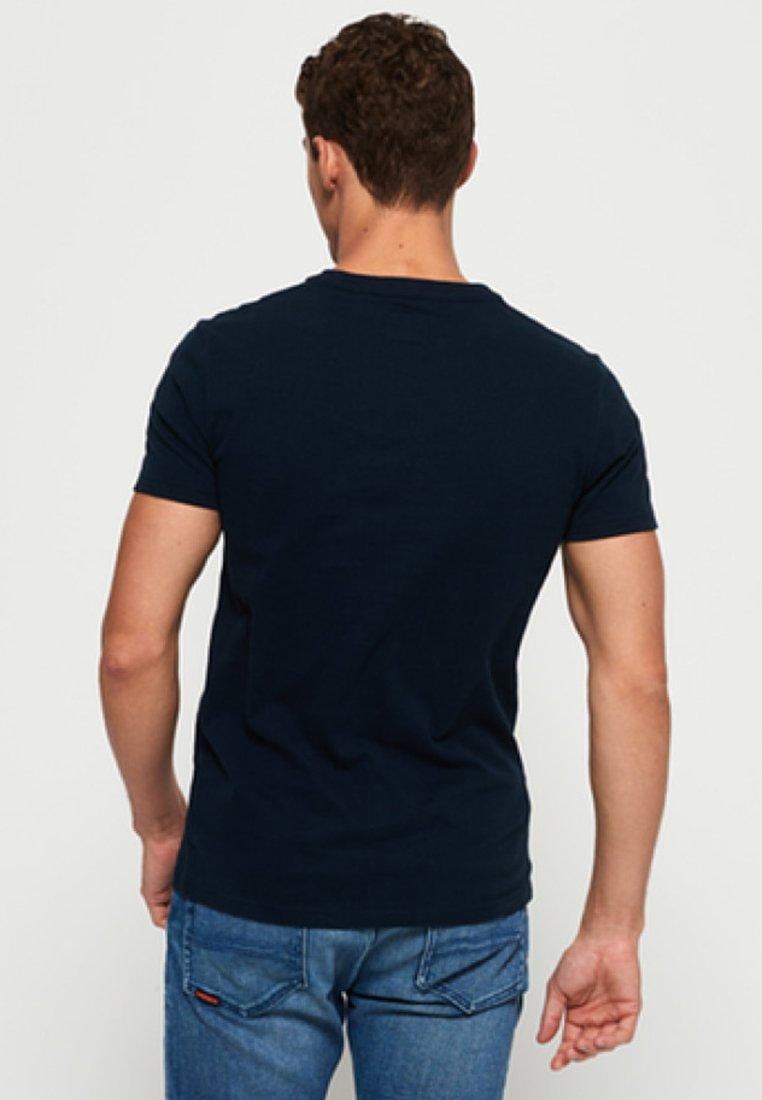Superdry HIBISCUS - T-shirt imprimé royal blue