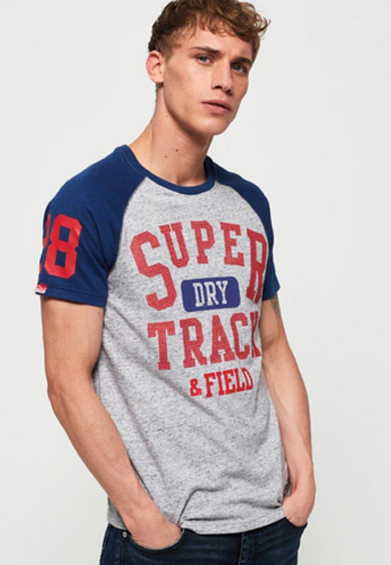 Superdry Superdry shirt Superdry T ImpriméGrey ImpriméGrey T shirt T Superdry shirt ImpriméGrey 9D2EHI