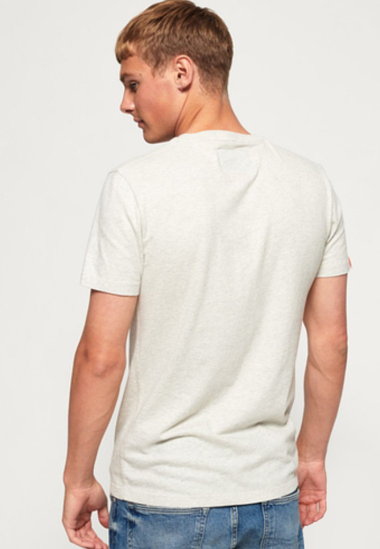 Orange Superdry Imprimé shirt LabelT white Off IED2H9