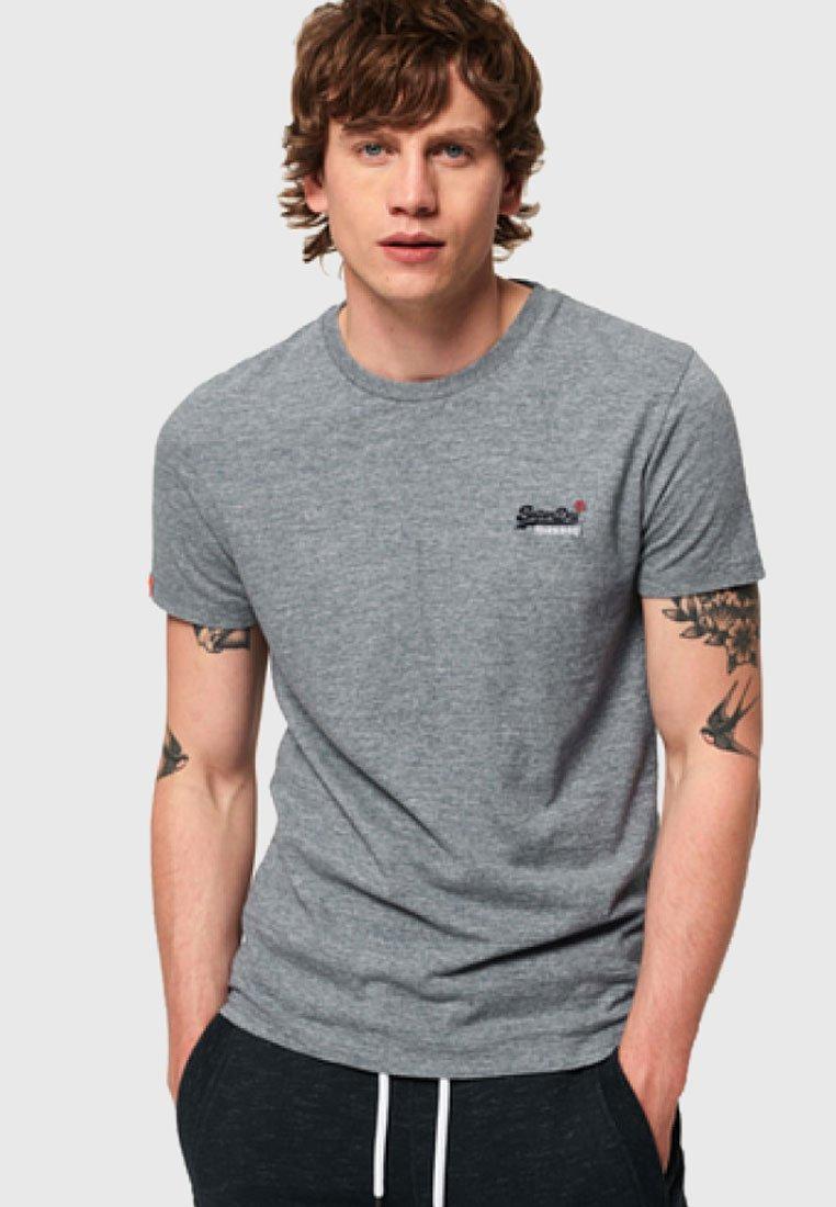 Superdry - Print T-shirt - grey