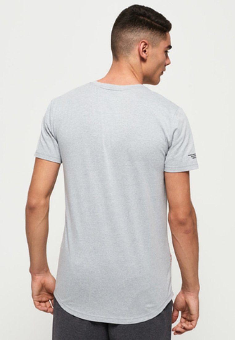 Imprimé Superdry Heather Grey shirt Mit GrafikT yYbfg76