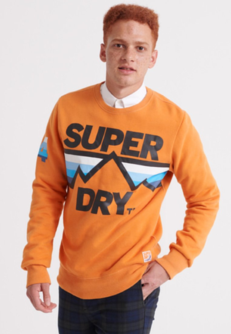 Superdry - DOWNHILL RACER - Sweatshirt - orange