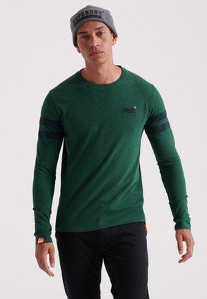 LONG SLEEVED - Long sleeved top - buck green mottled