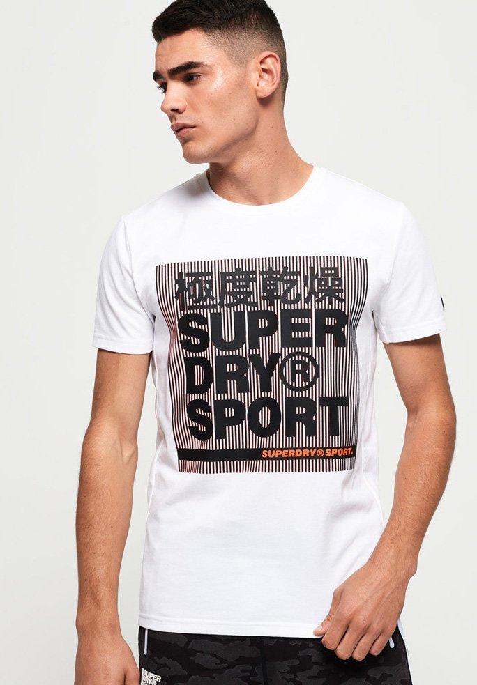 White shirt GrafikT Mit Imprimé Superdry FKJcl1T