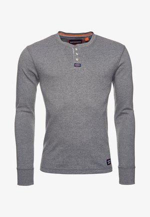 MIT LANGEN ÄRMELN  - Camiseta de manga larga - carbon grey feeder