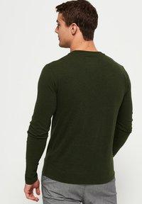 Superdry - Long sleeved top - khaki - 2