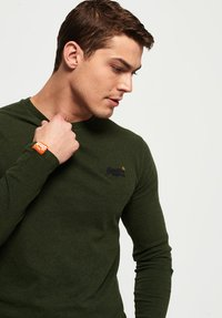 Superdry - Long sleeved top - khaki - 3